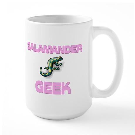 Salamander Geek Large Mug
