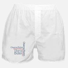 Barack Obama Joe Biden Boxer Shorts