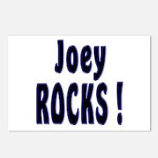 Joey Rocks ! Postcards (Package of 8)