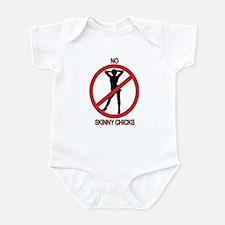 No Skinny Chicks Infant Bodysuit