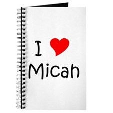Cute Micah Journal