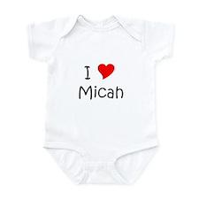 Cute Micah Infant Bodysuit
