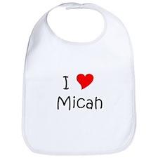 Cute Micah Bib