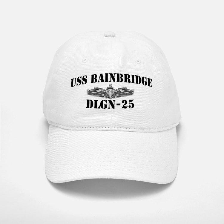 USS BAINBRIDGE Baseball Baseball Cap