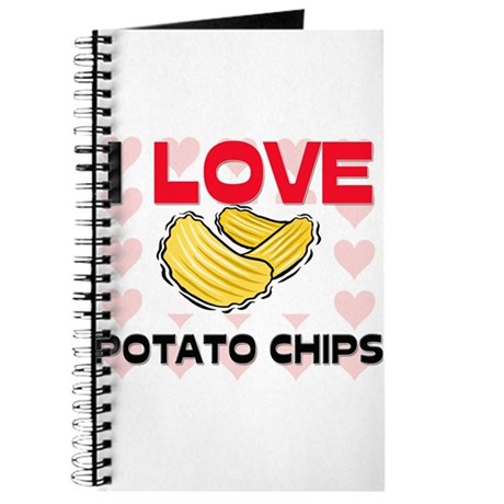 I Love Potato Chips Journal