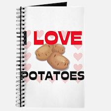 I Love Potatoes Journal