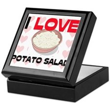 I Love Potato Salad Keepsake Box