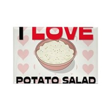 I Love Potato Salad Rectangle Magnet