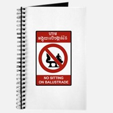 No Sitting on Balustrade, Cambodia Journal