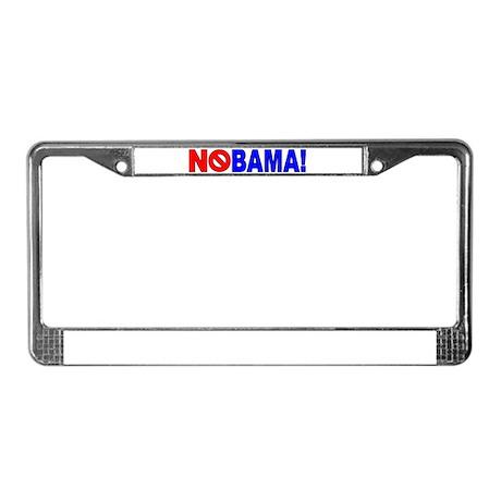 NoBama! License Plate Frame