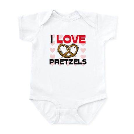 I Love Pretzels Infant Bodysuit