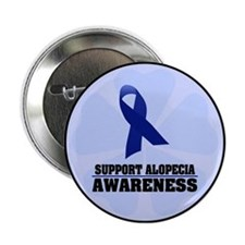 "Alopecia Awareness 2.25"" Button"