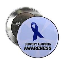 """Alopecia Awareness 2.25"""" Button"""