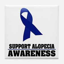 Alopecia Awareness Tile Coaster