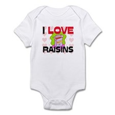 I Love Rainbow Trout Infant Bodysuit
