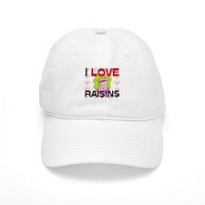 I Love Rainbow Trout Baseball Cap