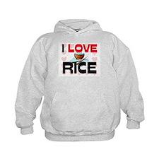 I Love Rice Hoodie