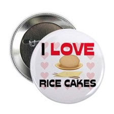 "I Love Rice 2.25"" Button"