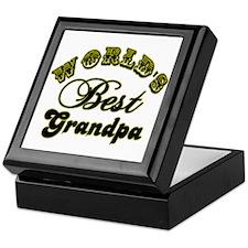 Best Grandpa Keepsake Box