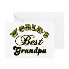 Best Grandpa Greeting Cards (Pk of 10)