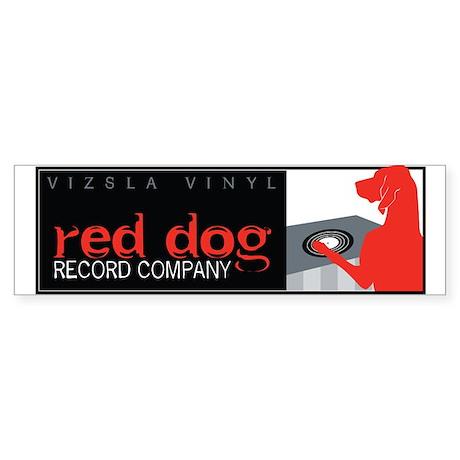 Vizsla Vinyl Sticker (Bumper)