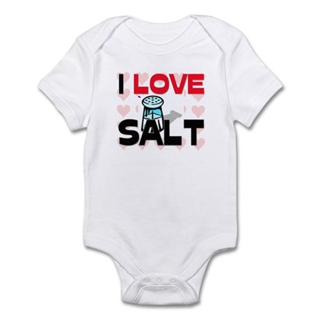 I Love Salt Infant Bodysuit
