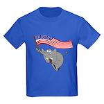 Republican Elephant Kids Dark T-Shirt