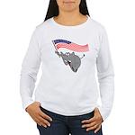 Republican Elephant Women's Long Sleeve T-Shirt