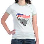Republican Elephant Jr. Ringer T-Shirt