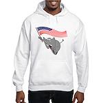 Republican Elephant Hooded Sweatshirt