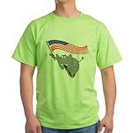 Republican Elephant Green T-Shirt