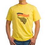 Republican Elephant Yellow T-Shirt