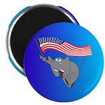 Republican Elephant Magnet