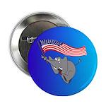 "Republican Elephant 2.25"" Button"