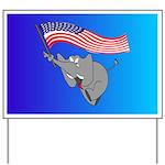 Republican Elephant Yard Sign