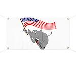 Republican Elephant Banner