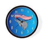 Republican Elephant Wall Clock