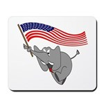 Republican Elephant Mousepad