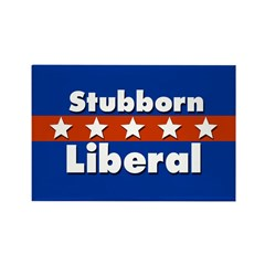 10 Stubborn Liberal Refrigerator Magnets