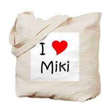 Cute Miki Tote Bag