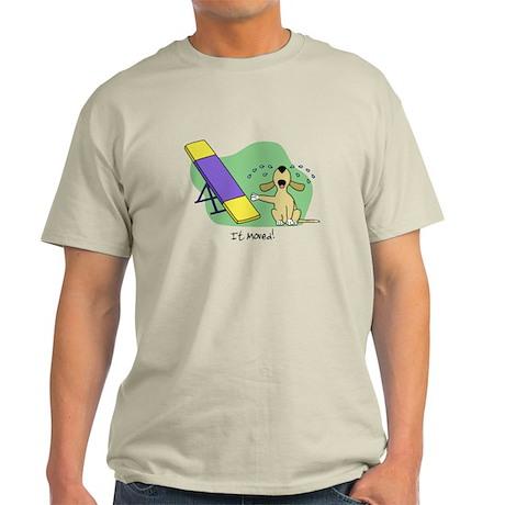 See-Saw Agility Dog Light TShirt