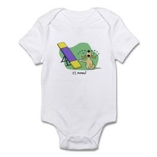 See-Saw Agility Dog Infant Bodysuit