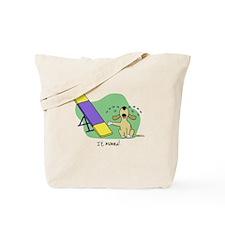 See-Saw Agility Dog Tote Bag