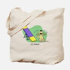 See-Saw Agility Dog Tote Bag
