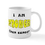 Stronger Than Cancer (yellow) Mug