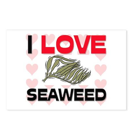 I Love Seaweed Postcards (Package of 8)