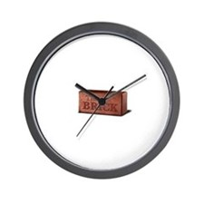 The Brick Wall Clock