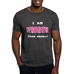 Stronger Than Cancer (pink) Dark T-Shirt