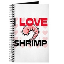 I Love Shrimp Journal