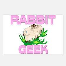 Rabbit Geek Postcards (Package of 8)